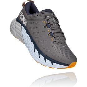 Hoka One One Gaviota 3 Shoes Men charcoal gray/ombre blue